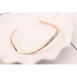Arcing- Swarovski kristályos karkötő - rózsaarany, színes