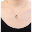 Star hole - fehér - Swarovski kristályos nyaklánc 1