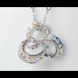 Octopus- fehér Swarovski kristályos nyaklánc
