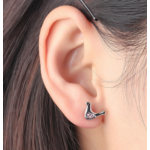 Offeret - színes -  Swarovski kristályos fülbevaló
