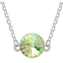 Gong-zöld- Swarovski kristályos nyaklánc