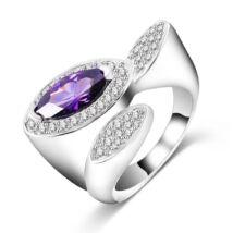 Kis hercegnő -  divatgyűrű - lila