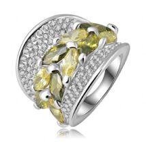 Borostyánkoszorú -  divatgyűrű