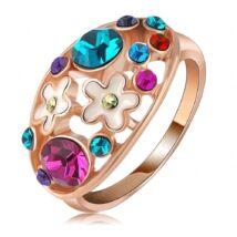 """""""Virágos kert """" - divatgyűrű"""
