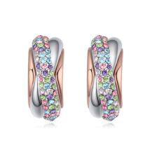 Álomkép fülbevaló-színes- Swarovski kristályos