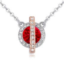 Vibrant Hope  - Swarovski kristályos nyaklánc - piros