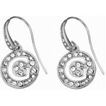 GUESS ezüst színű, G betűt formáló fülbevaló