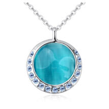 Virtuous Love - Swarovski kristályos nyaklánc - kék