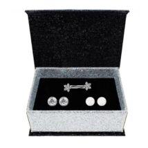 Heni - Swarovski kristályos fülbevalószett