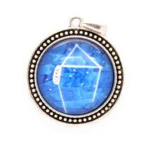 Mérleg egyensúlyban - nyaklánc a Mérleg csillagképpel - nagy medál
