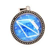 Szextáns az útmutató - nyaklánc a Szextáns csillagképpel - nagy medál