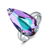 Könny és remény - állítható méretű Swarovski kristályos gyűrű - Paradise Shine