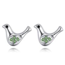 Offeret - zöld -  Swarovski kristályos fülbevaló