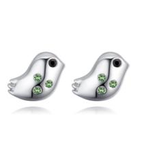 Avium - zöld - Swarovski kristályos fülbevaló