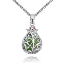 Baroque - zöld - Swarovski kristályos nyaklánc