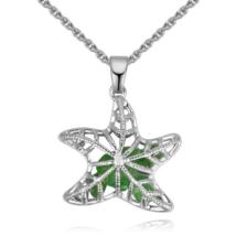 Starfish - zöld - Swarovski kristályos nyaklánc