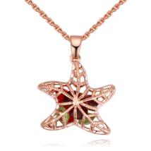 Starfish - színes - Swarovski kristályos nyaklánc