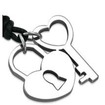 Kulcs a szívemhez - nemesacél nyakék
