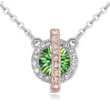 Vibrant Hope  - Swarovski kristályos nyaklánc - zöld