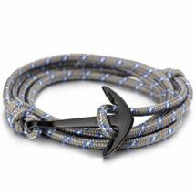 Anchorissime - Anchor horgony karkötő - fekete- szürke kötél
