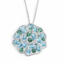 Boccadamo Jewels -  ezüst nyaklánc-Lidian-kék