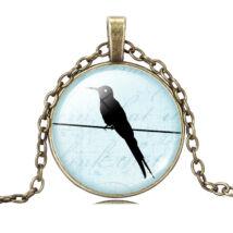 Birdy nyaklánc - bronz - 3.