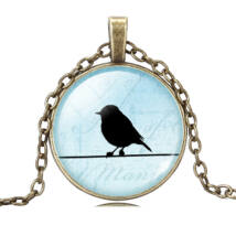 Birdy nyaklánc - bronz - 5.