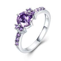Onorata - cirkóniaköves divatgyűrű - lila