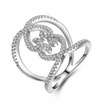 Suriel - cirkóniaköves divatgyűrű - fehér