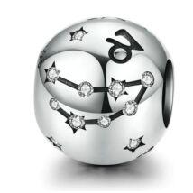 Horoszkóp Ezüst charm - BAK - fehér
