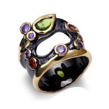 Különös csoda - cirkóniaköves exkluzív gyűrű