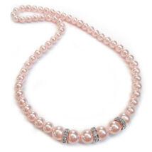 Swarovski gyöngy nyaklánc - Rosaline