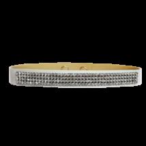 4 kősoros Swarovski kristályos nyakpánt - Crystal - fehér