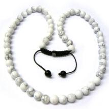 Exkluzív Shamballa nyaklánc- márvány - Nyakék