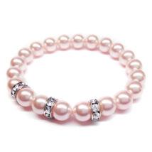 Swarovski gyöngy karkötő - Rosaline - rózsaszín