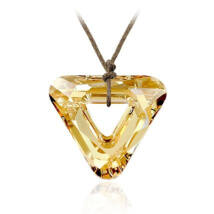 Trigonum - Swarovski kristályos - Medál