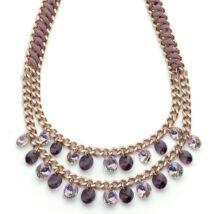 Boccadamo Jewels - Aida bronz nyakék - -rózsaarany - lila