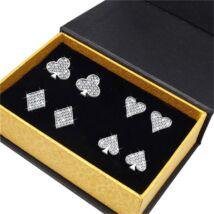 4 csoda - ékszerdobozos Swarovski kristályos fülbevaló kollekció