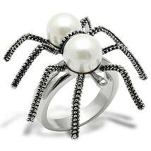 Pók & Gyöngy - gyűrű