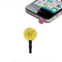 Shamballa telefonékszer-sárga