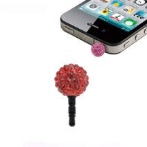 Shamballa telefonékszer-piros