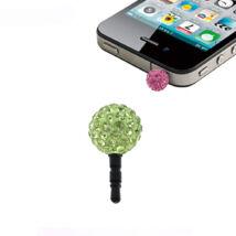 Shamballa telefonékszer-zöld