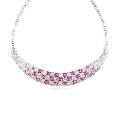 Mozaik híd -rózsaszín- Swarovski kristályos