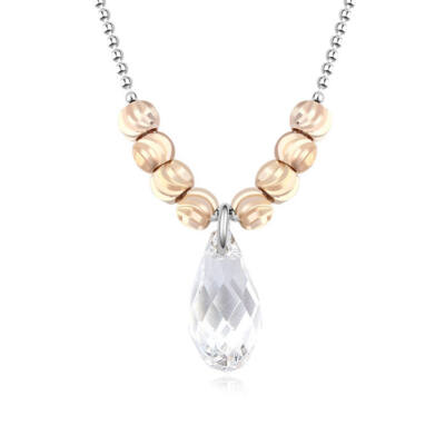 Classic pearl- nyakék - Swarovski kristályos