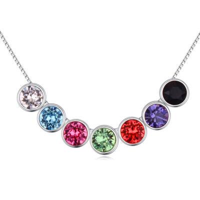 Omnes colores- Swarovski kristályos - nyaklánc