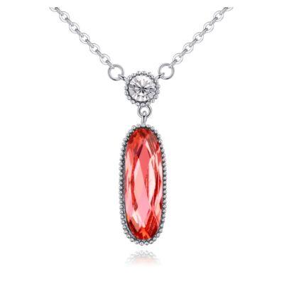 Beauty- Swarovski kristályos nyaklánc-piros
