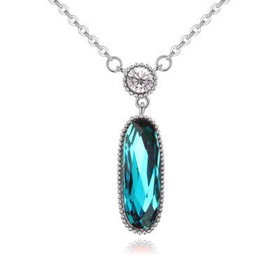 Beauty- Swarovski kristályos nyaklánc-kék