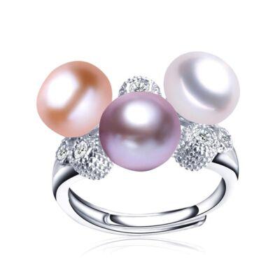 Helena - valódi gyöngyből készült gyűrű
