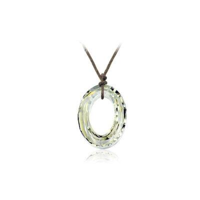 Oval - Swarovski kristályos - Medál