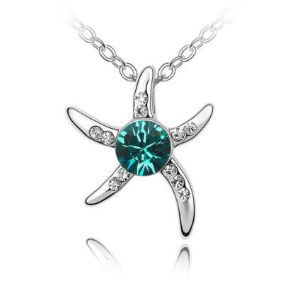 Tengeri csillag - Swarovski kristályos - Medál